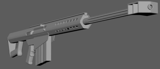 M98A1 Front